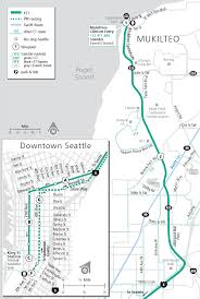 Downtown Seattle Map by Schedules