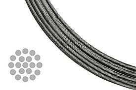 t 316 stainless steel metal wire cable for deck railing 1 8