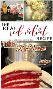 old family recipe the real red velvet cake recipe artsy