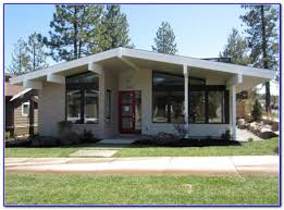 Exterior House Paints by Mid Century Modern Exterior House Paint Colors Front Makeover