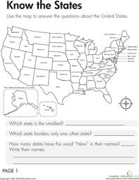 Social Studies Worksheets 6th Grade Geography The States Geography Worksheets And Third