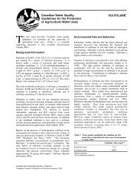 Council On Environmental Quality Guidelines Sulfolane En Biodegradation Groundwater