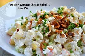 Cottage Cheese Recipes Healthy by Waldorf Cottage Cheese Salad Thm Dinners Pinterest Cottage