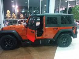 orange jeep wrangler willys unlimited in sunset orange jeep wrangler forum