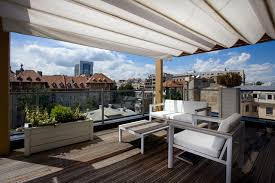 Contemporary Retractable Awnings Retractable Awning Deck Contemporary With Awning Decking Glass