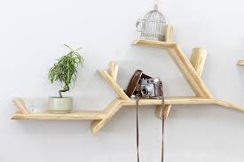 the oak branch shelf tree branch shelves by bespoak book tree