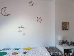chambre danseuse deco chambre etoile deco chambre enfant tricotin etoiles lune