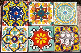 mexican tile bathroom designs bathroom fetching floral mexican tile for bathroom wall and