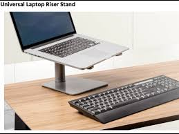 laptop riser for desk monoprice universal laptop riser stand un boxing youtube
