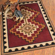 Western Throw Rugs Southwest Rugs Council Fire Southwestern Rug Collection Lone Star