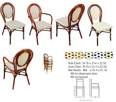 Wicker Bistro Chairs Style Bistro Table And Chairs With Tables Charming
