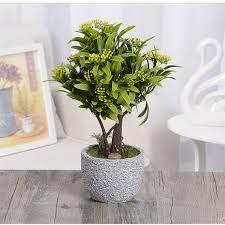 Home Decor Artificial Trees Online Get Cheap Artificial Tree Plant Living Room Decor