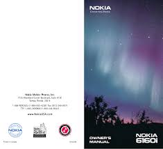 download free pdf for nokia 6160 cell phone manual