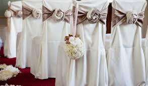 White Banquet Chair Covers Having Limited Budget For Wedding Rent Wedding Chair Covers