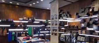 rifle flaghsip store in milan reggiani illuminazione