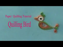 paper quilling birds tutorial making quilling bird by using paper paper quilling tutorial
