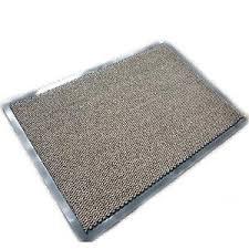 rubber backed mat ebay