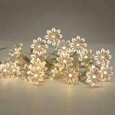 warm white solar fairy lights flower string lights ikea google search z garden pinterest