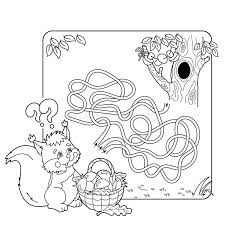 maze labyrinth game preschool children puzzle tangled