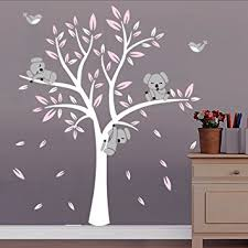 stickers chambre bdecoll arbre koala diy stickers muraux arbres stickers