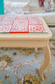 25 Unique Painted Tv Trays by Painting Tiles Coffee Table Revamp House Ideas Pinterest
