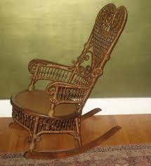 Ebay Wicker Patio Furniture - antique victorian heywood wakefield rocking chair c 1890 ex cond