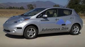stanced nissan leaf u s government gets serious about autonomous vehicle regulation