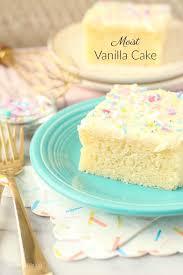 moist vanilla cake recipe agam in kitchen