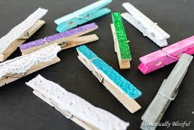baby shower clothespin decorative clothespins