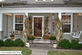 exterior fascinating front porch decoration using white wood front