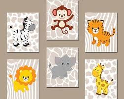 stickers animaux chambre bébé stickers jungle chambre bb best de bande dessine singe