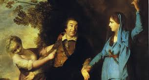 Meme Painting - distracted boyfriend meme found in 18th century painting photo