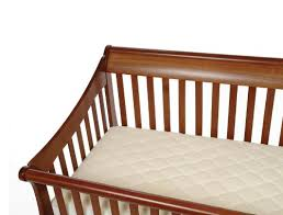 Thin Crib Mattress Snoozy Organic Cotton Waterproof Crib Mattress Pad