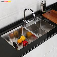 Kitchen Sink Set by Online Get Cheap Stainless Steel Trough Sink Aliexpress Com
