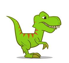 en couleurs à imprimer animaux dinosaures t rex numéro 271070