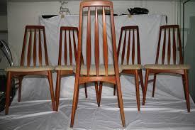 set of five danish modern dining room