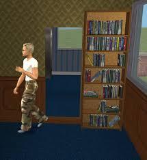 Sliding Door Bookcase Mod The Sims Secret Door Sliding Bookcase