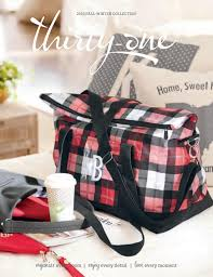 thirty one 2016 2017 fall winter catalog by thirty one gifts ind