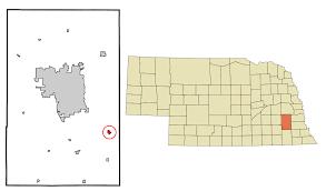 Nebraska Zip Code Map by Bennet Nebraska Wikipedia