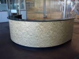Semi Circular Reception Desk Semi Circular Reception Desk Auction 0021 3002472 Graysonline