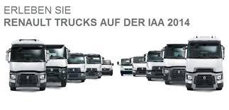 renault trucks 2014 renault trucks auf der iaa 2014 otto nutzfahrzeuge