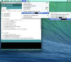 uploading sample programs arduino on to the device u2013 unlimitedhand