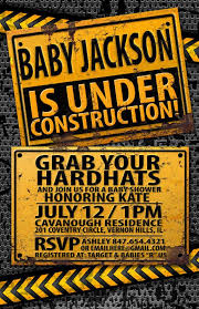 construction baby shower best 25 construction ba showers ideas on digger