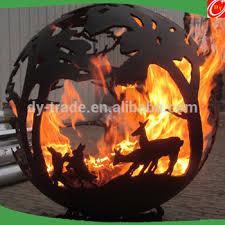 Fire Pit Globe by Globe Carbon Steel Fire Pit Buy Steel Fire Pit Globe Fire Pit