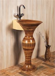this is dolphin pedestal wash basin decorated from sonet india