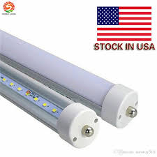 8 foot led bulb light t8 8ft led single pin fa8 45w smd2835 100lm