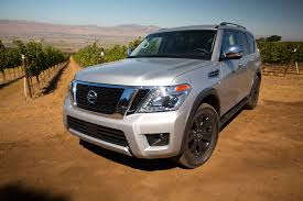 2017 nissan armada third row 2017 nissan armada first drive automobile magazine