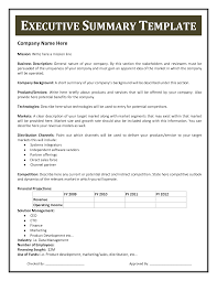 Executive Summary Resume Samples by Example Executive Summary Resume Professional Resumes Sample Online
