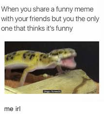 Funny Angry Memes - when you share a funny meme with your friends but you the only one