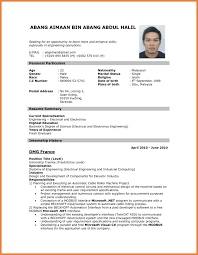 Resume For Teachers Pdf New Format Of Resume 2014 Sop Proposal